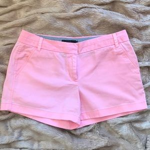 Pretty Pastel Pink Chino Shorts by J. Crew